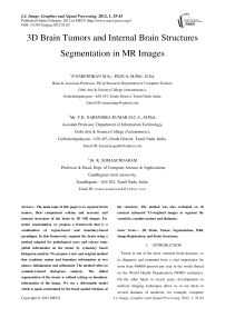 3D Brain Tumors and Internal Brain Structures Segmentation in MR Images