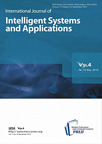 10 vol.4, 2012 - International Journal of Intelligent Systems and Applications