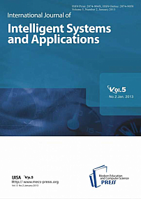 2 vol.5, 2013 - International Journal of Intelligent Systems and Applications