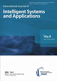 11 vol.5, 2013 - International Journal of Intelligent Systems and Applications