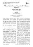 A Detailed Analysis of Grain family of Stream Ciphers