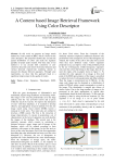 A Content based Image Retrieval Framework Using Color Descriptor