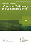 4 Vol. 9, 2017 - International Journal of Information Technology and Computer Science