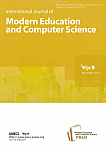 5 vol.9, 2017 - International Journal of Modern Education and Computer Science
