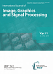 2 vol.11, 2019 - International Journal of Image, Graphics and Signal Processing
