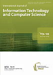 4 Vol. 10, 2018 - International Journal of Information Technology and Computer Science