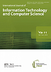 1 Vol. 11, 2019 - International Journal of Information Technology and Computer Science
