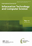 9 Vol. 11, 2019 - International Journal of Information Technology and Computer Science