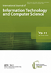 10 Vol. 11, 2019 - International Journal of Information Technology and Computer Science