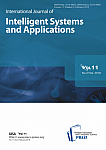 2 vol.11, 2019 - International Journal of Intelligent Systems and Applications