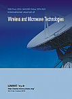 1 Vol.9, 2019 - International Journal of Wireless and Microwave Technologies