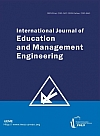 International Journal of Education and Management Engineering