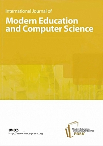 International Journal of Modern Education and Computer Science